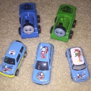 Thomas & Friends cars and trains